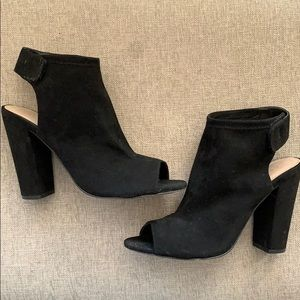 Velcro Back Comfy Heels